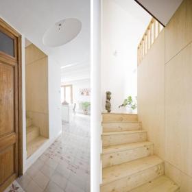 现代楼梯植物设计案例展示