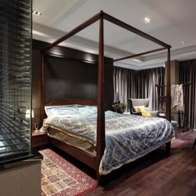 中式简约卧室设计案例展示