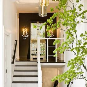 欧式楼梯植物案例展示