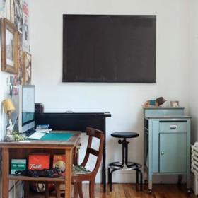 书房桌子柜子装修案例