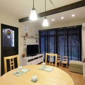 清新自然客厅沙发布艺沙发设计案例