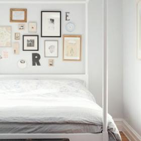 清新大床设计图