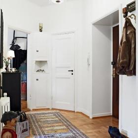 简欧混搭简欧风格玄关玄关柜柜子水晶吊灯设计案例展示