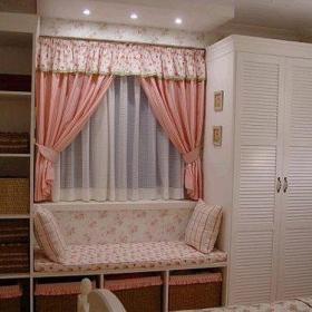 温馨客厅卧室厨房一室一厅柜子设计图