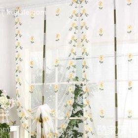 田园清新窗帘设计案例展示