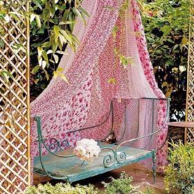 花园植物椅躺椅设计方案
