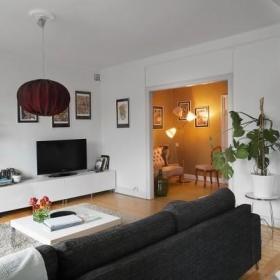 76平米简约混搭古典风公寓