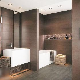 现代简约现代简约简约风格现代简约风格奢华卫浴马赛克设计案例展示