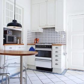 欧式温馨厨房设计图