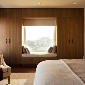 卧室飘窗&落地窗设计图