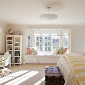 卧室飘窗&落地窗装修图