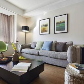 现代简约客厅背景墙设计图