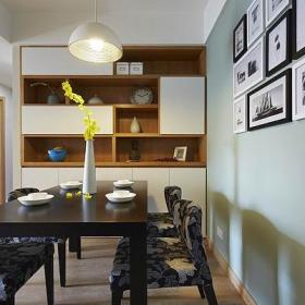 现代简约餐厅餐桌设计案例展示