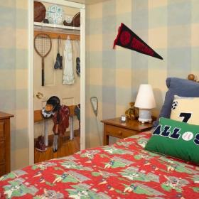 卧室隐形门案例展示