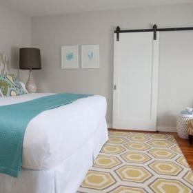 卧室隐形门效果图