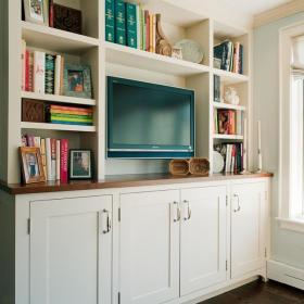 背景墙电视柜设计案例