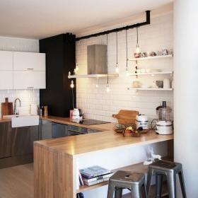 北欧厨房收纳设计案例展示