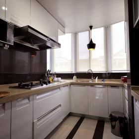 现代简约厨房收纳设计图