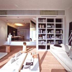 现代简约客厅吊顶设计案例
