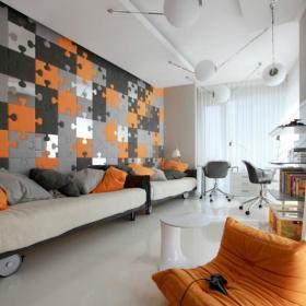 现代简约客厅吊顶设计方案