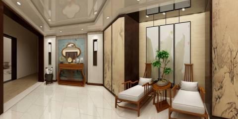 清山湖门厅装修设计方案