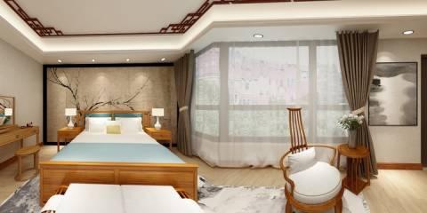 清山湖卧房4装修设计方案