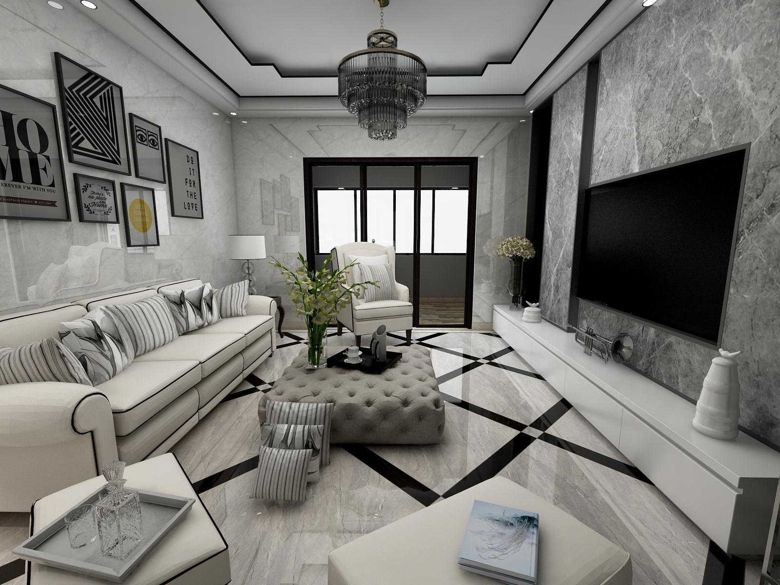 福州·中天金海岸领江十栋·现代简约-设计师:伯兰