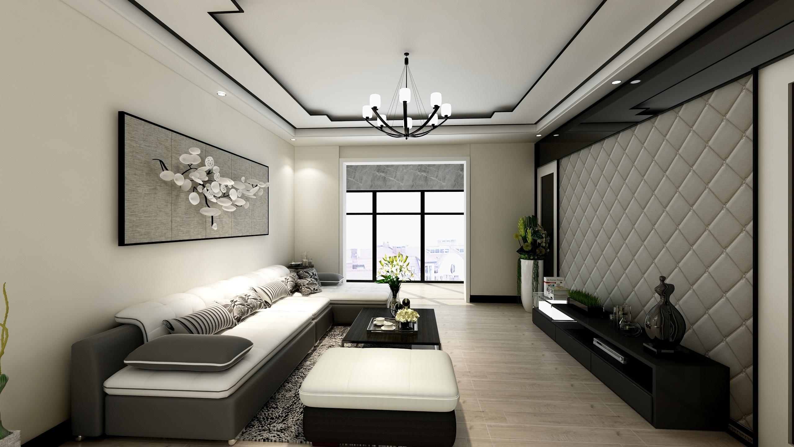 现代简约-二居-设计师:李青恒