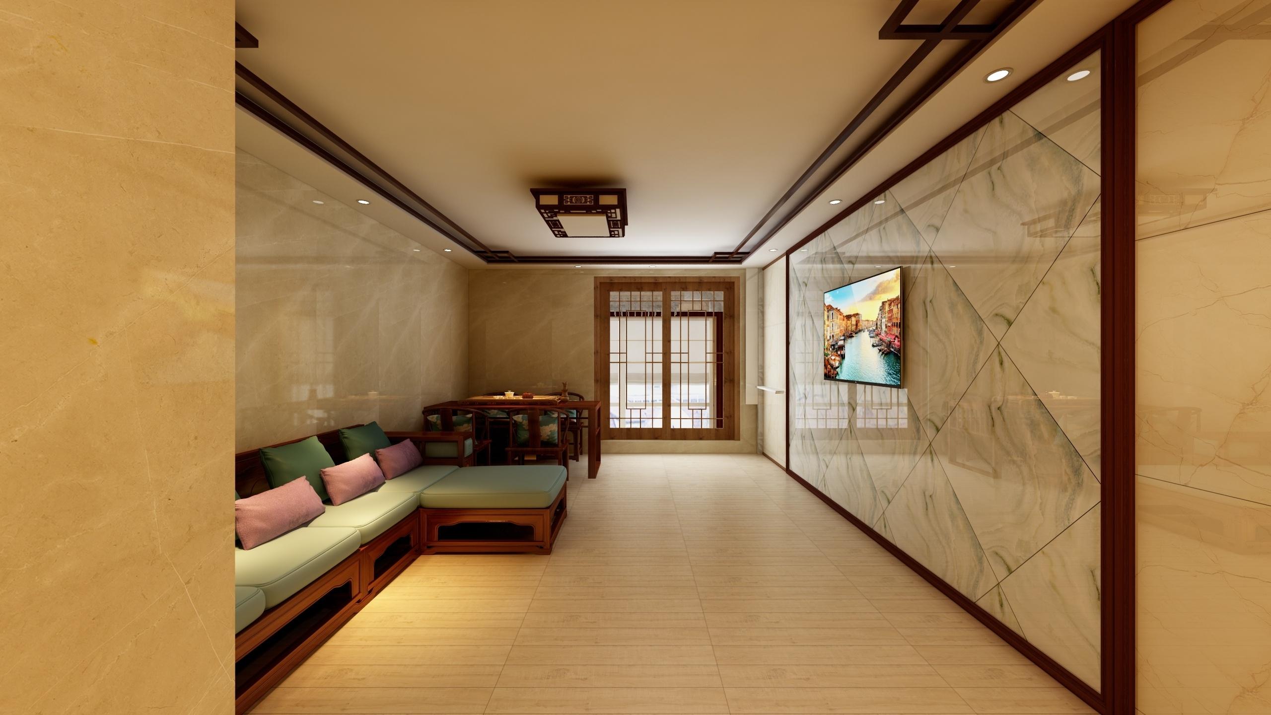 三居中式-设计师:李青恒