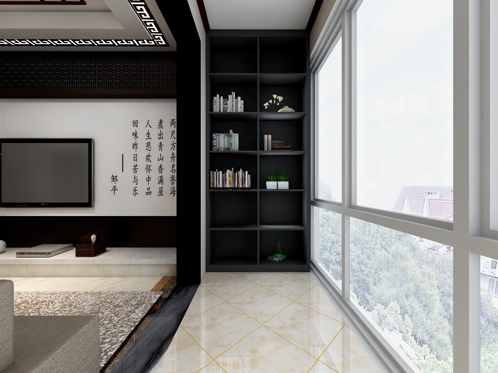 大川白金城3室1厅-设计师:陈梵