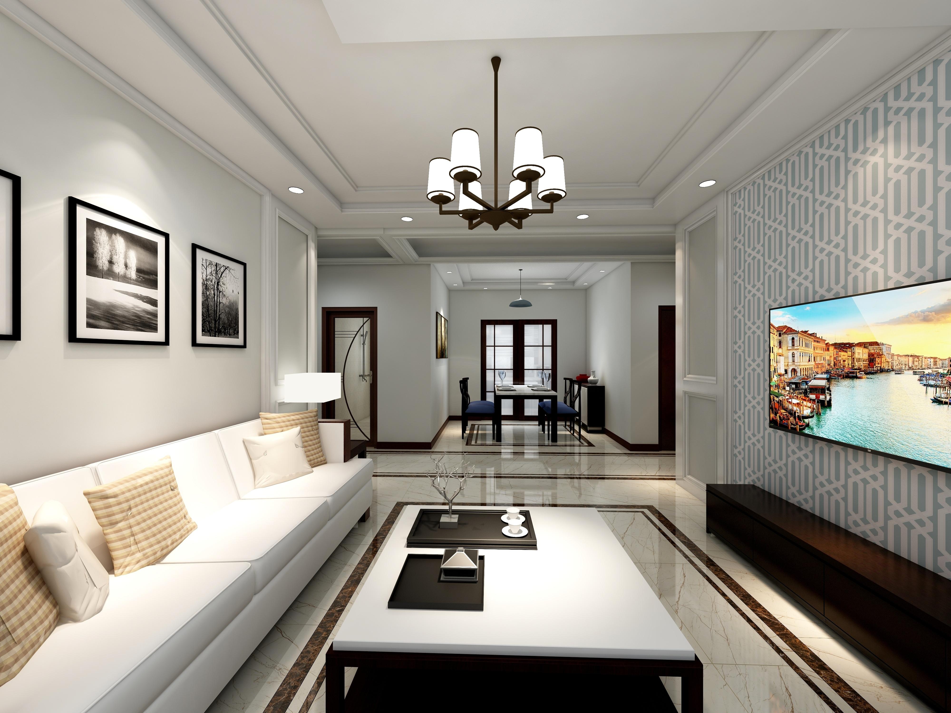 新中式美宅-设计师:宋巍巍