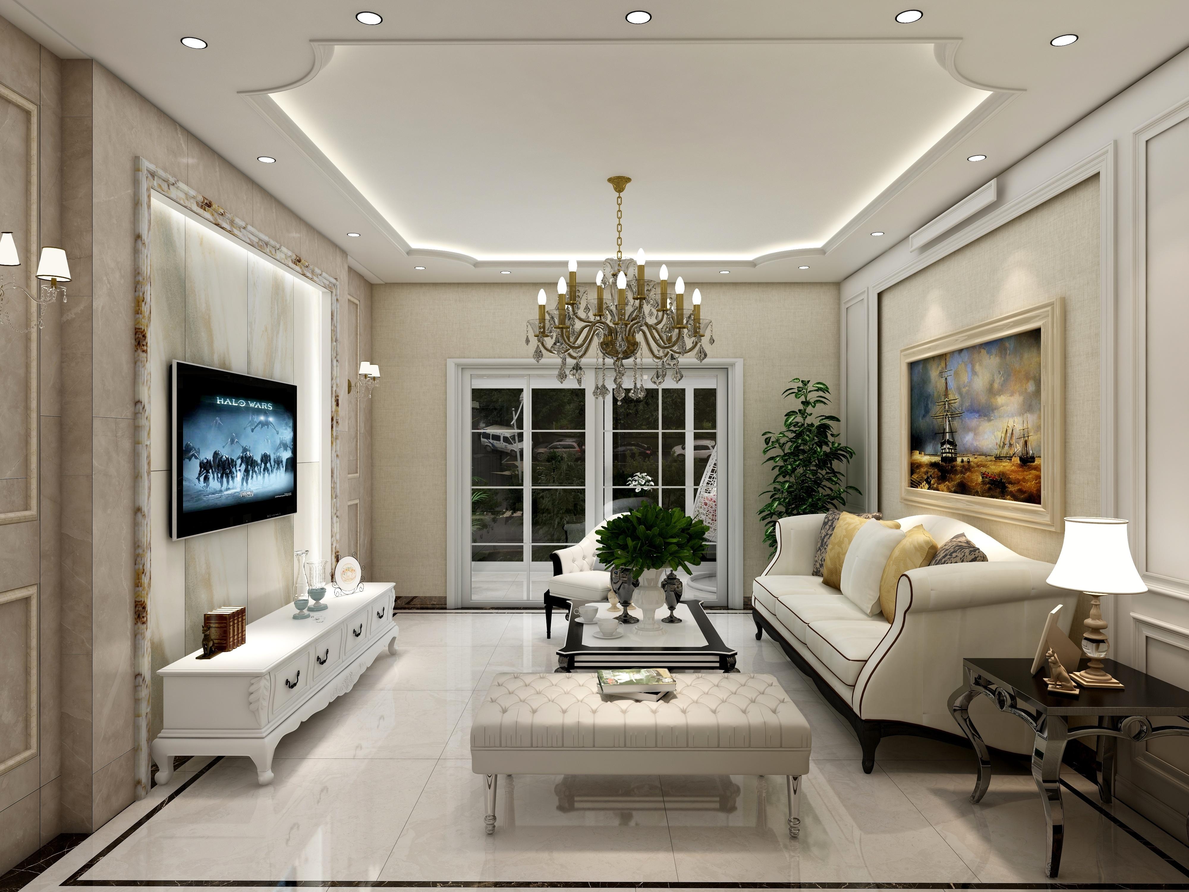 正弘澜庭序2室2厅1厨1卫-简欧风格-设计师:黄红妮