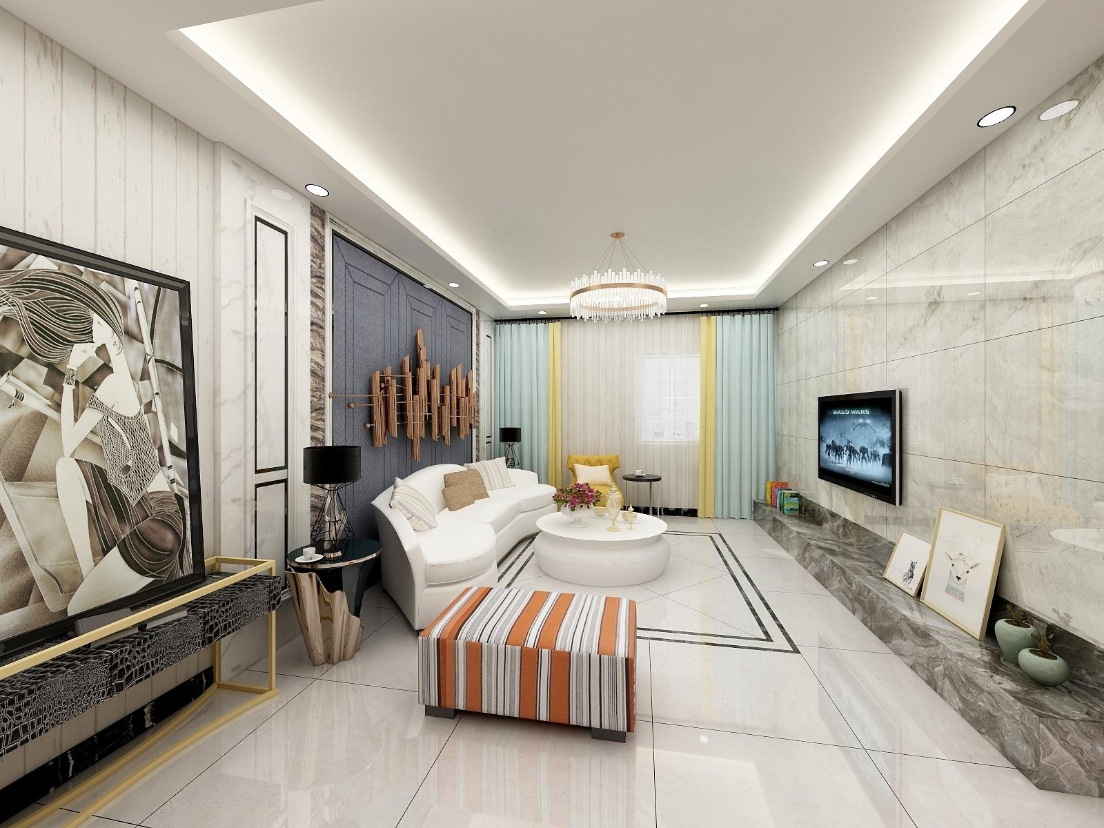 瑞府两室-设计师:李楠