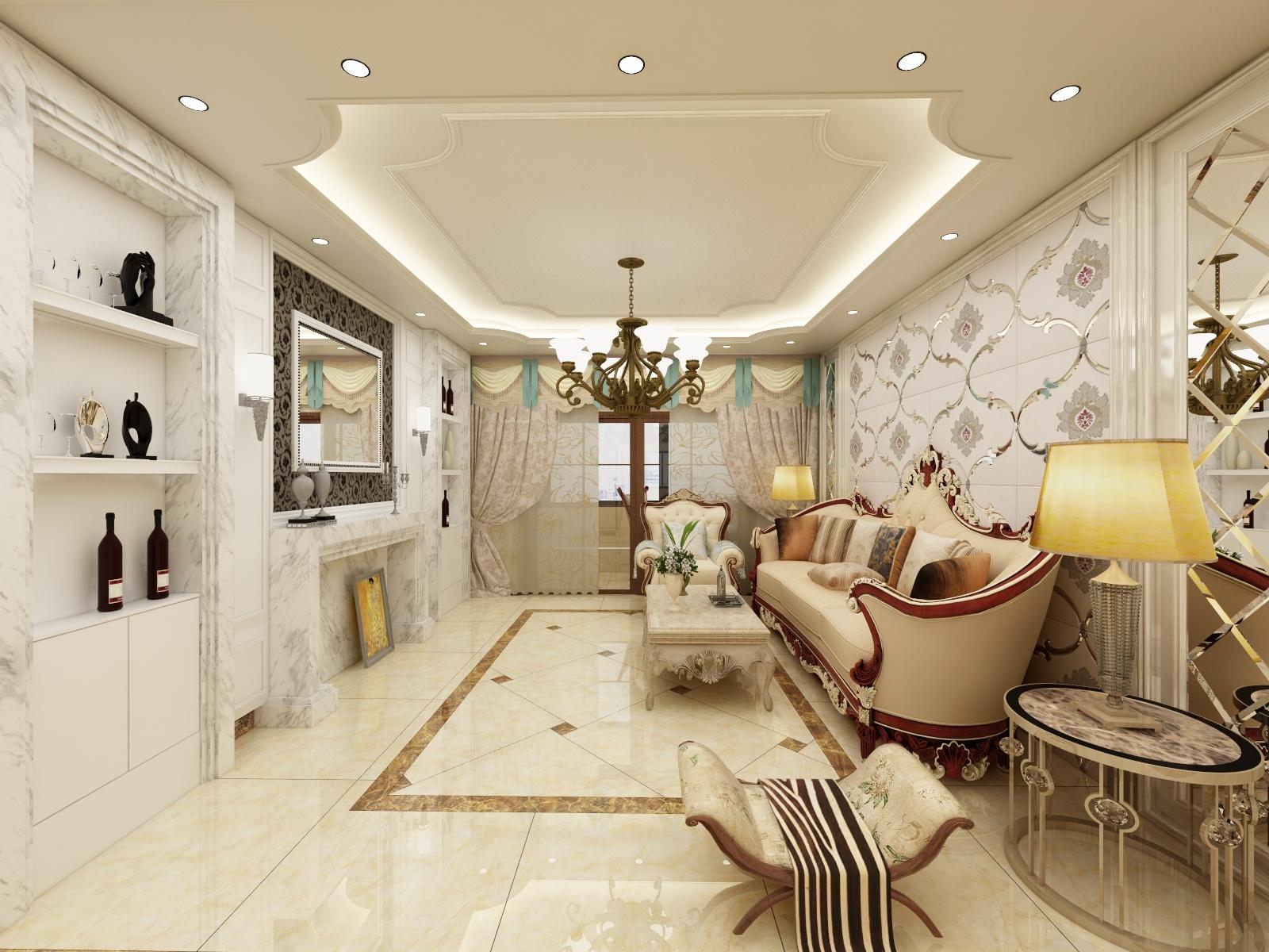 天佑小区三室两厅-设计师:李楠