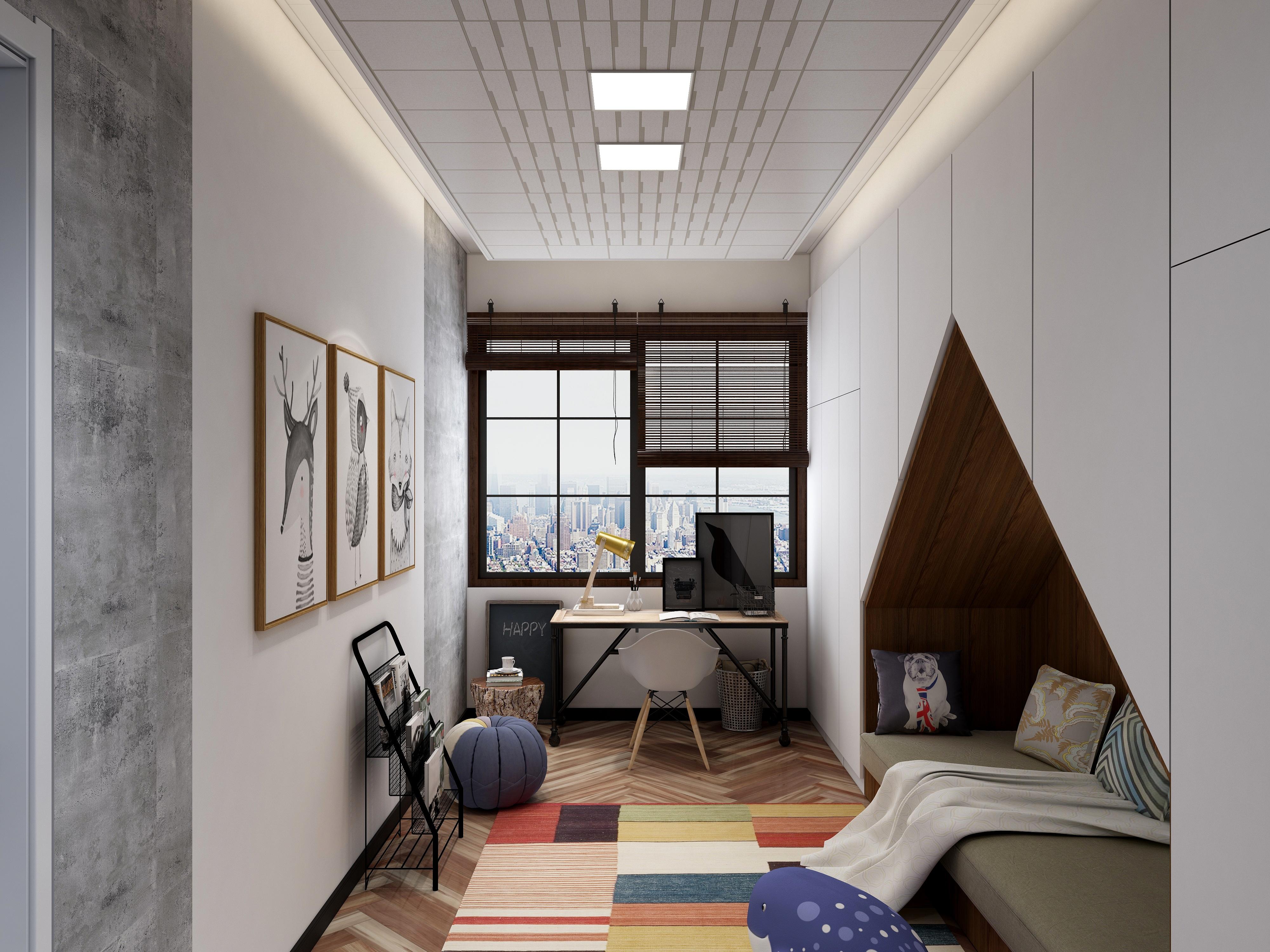 北欧风格-(功能房、卧室)