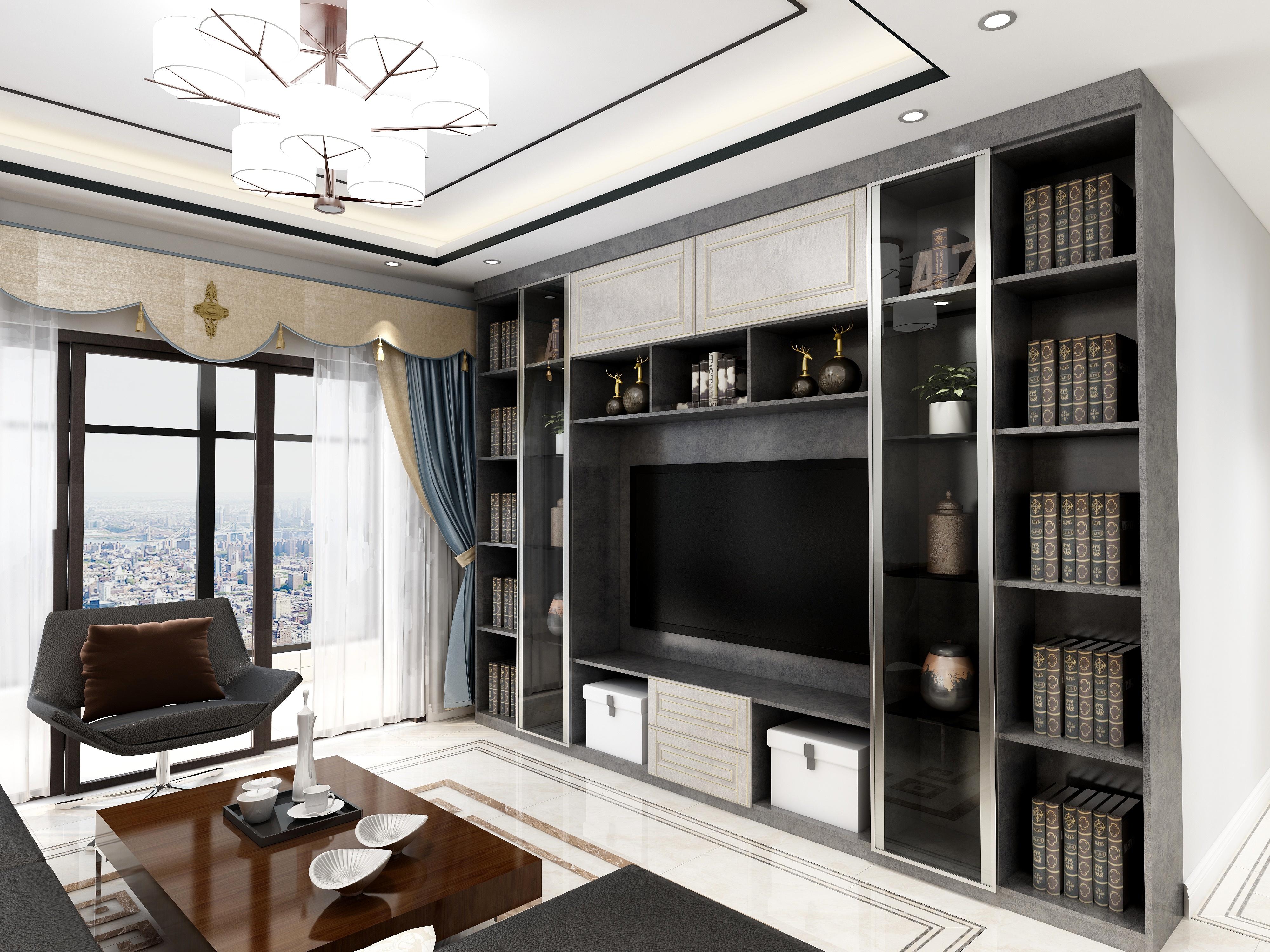 京华假日湾-设计师:雅斯曼定制家居
