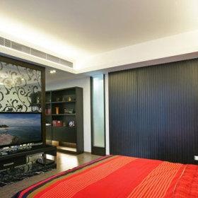 欧式典雅卧室背景墙壁纸设计方案
