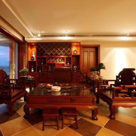 中式明清客厅设计案例展示