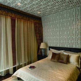 中式东南亚卧室图片