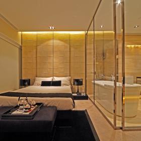 现代简约韩式卧室装修图