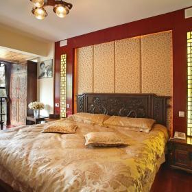 中式明清卧室装修效果展示