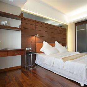 现代简约卧室背景墙设计方案
