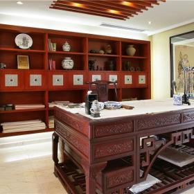 中式书房吊顶设计图