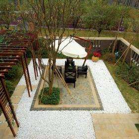 中式花园装修图