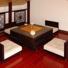 中式阁楼多功能室设计方案