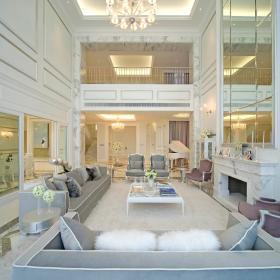 欧式客厅别墅设计案例展示