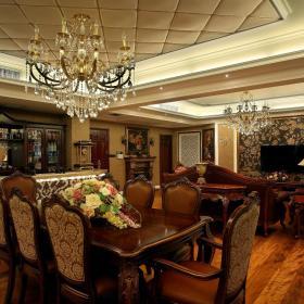 欧式洛可可餐厅设计案例