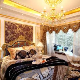 欧式法式卧室装修图