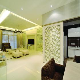 现代简约韩式客厅装修图