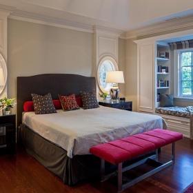 东南亚卧室飘窗&落地窗设计图